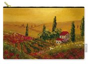 Under The Tuscan Sun Carry-all Pouch by Darice Machel McGuire