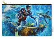 Under Water Carry-all Pouch by Leonid Afremov