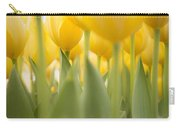 Under Yellow Tulips - 8x10 Format Carry-all Pouch