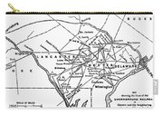 Underground Railroad Map Carry-all Pouch