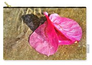 Underwater Bubbles On Petal Carry-all Pouch