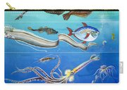 Underwater Creatures Montage Carry-all Pouch