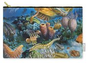 Underwater Paleozoic Landscape Carry-all Pouch
