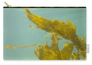 Underwater Shot Of Seaweed Plant Floating Leaves Carry-all Pouch