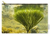 Underwater Shot Of Seaweed Plant Surface Reflected Carry-all Pouch