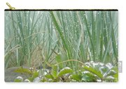 Underwater Shot Of Submerged Grass And Plants Carry-all Pouch