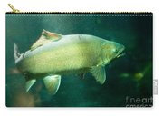 Underwater Shot Of Trophy Sized Tiger Trout Carry-all Pouch