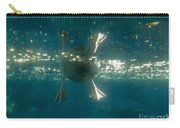 Underwater View Of Duck's Webbed Feet Carry-all Pouch