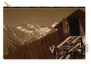 Unending Views In Sepia Carry-all Pouch