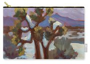 Unexpected Snowfall At Joshua Tree Carry-all Pouch