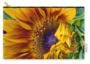 Unfurling Beauty - Cropped Version Carry-all Pouch