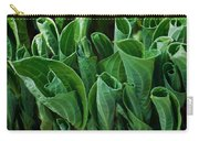 Unfurling Of The Hosta Carry-all Pouch