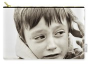 Unhappy Boy Carry-all Pouch