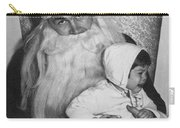 Unhappy Santa Claus Carry-all Pouch
