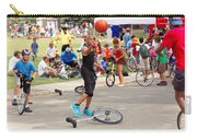 Unicyclist - Basketball - Street Rules  Carry-all Pouch