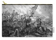 Union Charge At The Battle Of Gettysburg Carry-all Pouch