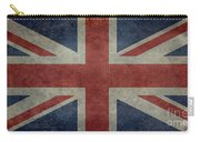 Union Jack 1 By 2 Version Carry-all Pouch