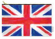 Union Jack Flag Painting Carry-all Pouch