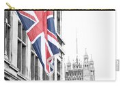 Union Jack Carry-all Pouch by Nancy Ingersoll