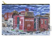 Union Pacific Train Car Painting Carry-all Pouch