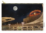 Union Station Denver Under A Full Moon Carry-all Pouch