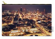 Union Station Night Carry-all Pouch by Crystal Nederman