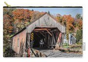 Union Village Covered Bridge Thetford Vermont Carry-all Pouch