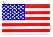 United States 50 Stars Flag Carry-all Pouch