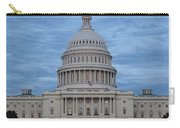 United States Capitol Building Carry-all Pouch by Kim Hojnacki