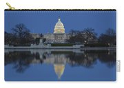 United States Capitol Building Carry-all Pouch by Susan Candelario