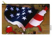 United States Map  Carry-all Pouch by Marvin Blaine