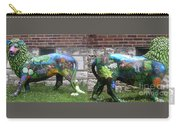 University City In Bloom Lion Carry-all Pouch