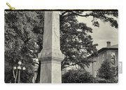 University Greys Black And White Carry-all Pouch