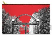 University Of Georgia - Georgia Arch - Red Carry-all Pouch