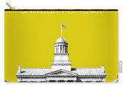University Of Iowa - Mustard Yellow Carry-all Pouch