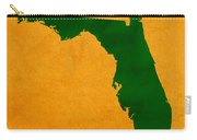 University Of Miami Hurricanes Coral Gables College Town Florida State Map Poster Series No 002 Carry-all Pouch