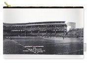 University Of Pittsburgh Vs W And J College Forbes Field Pittsburgh Pa 1915 Carry-all Pouch by Bill Cannon