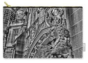 University Of Sydney-black And White V5 Carry-all Pouch