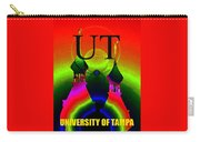 University Of Tampa Smart Phone Case Work B Carry-all Pouch