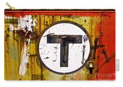 Unknown T - Railroad Art Carry-all Pouch