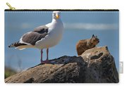 Unlikely Friends By Diana Sainz Carry-all Pouch by Diana Sainz