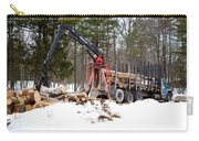 Unloading Firewood 1 Carry-all Pouch