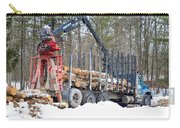 Unloading Firewood 2 Carry-all Pouch