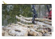 Unloading Firewood 4 Carry-all Pouch