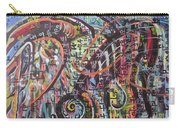 Unread Poem22-abstract Painting Carry-all Pouch