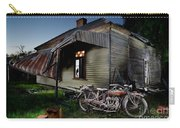 Unrestored 1924 Indian Chief And Australian Farm House Carry-all Pouch