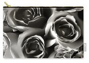 Bw Rose Bouquet 2 Carry-all Pouch