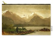 Untitled Mountains And Lake Carry-all Pouch