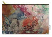 Untitled Watercolor 1998 Carry-all Pouch