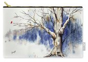 Untitled Winter Tree Carry-all Pouch